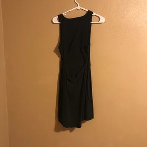 Black Hollister Mid-Thigh Dress